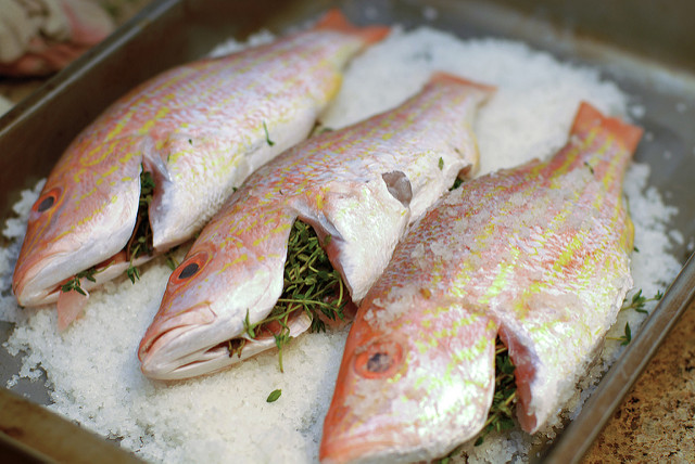 Whole Fish Baked Salt Recipe